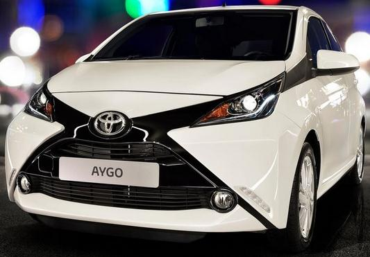 Toyota aygo city car 2014