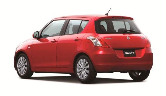eksterior suzuki the all new swift