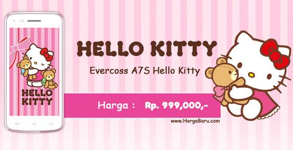 Harga Evercoss A7S Hello Kitty