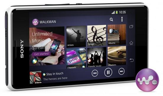 Walkman Sony Xperia E1