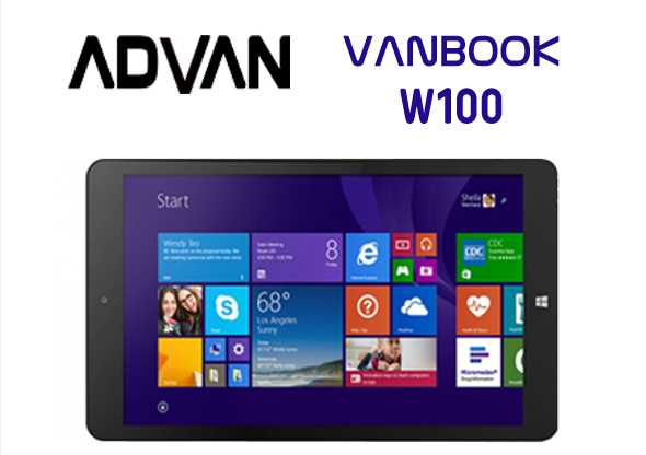 Advan Vanbook W100