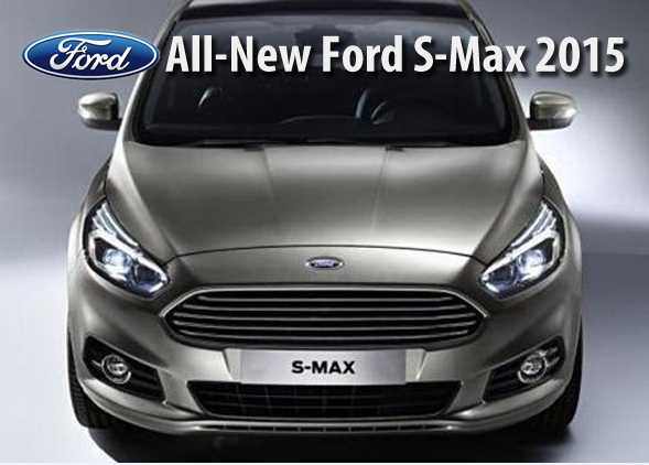 Gambar All-New Ford S Max 2015