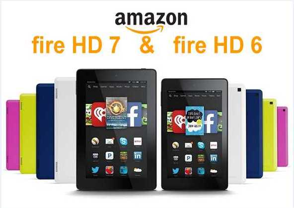 Gambar Amazon Fire HD 6 & Fire HD 7