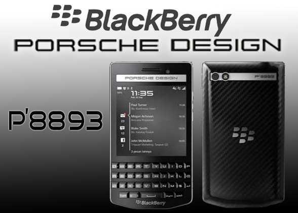 Gambar BlackBerry Porsche Design P'8893