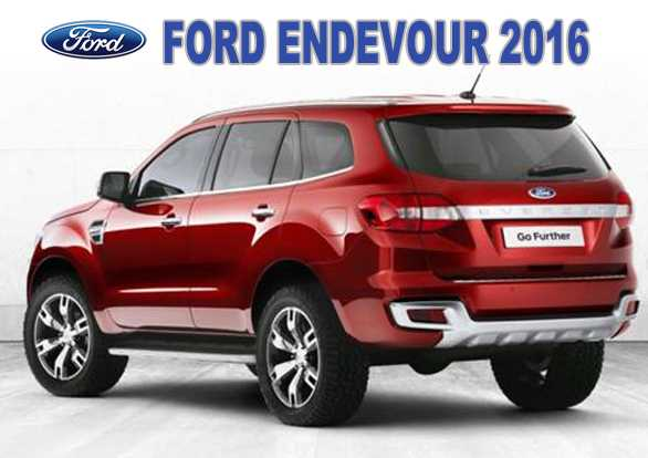 Gambar Ford Endeavour 2016