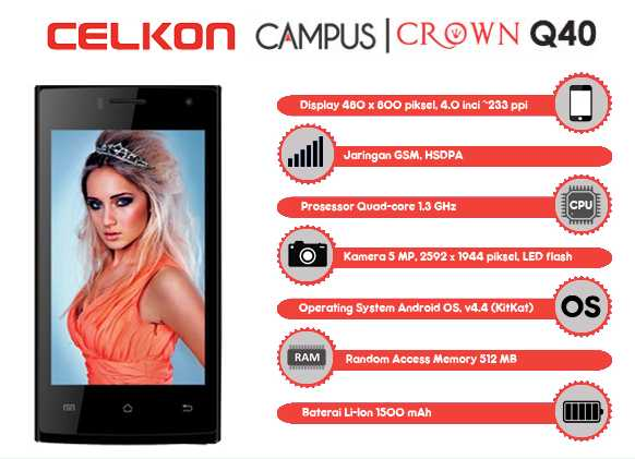Celkon Campus Crown Q40