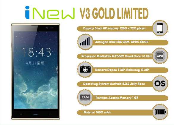 iNew V3 Gold Limited
